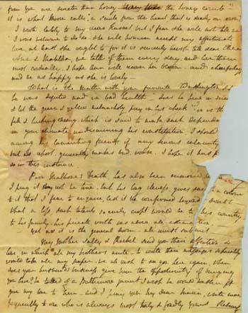 Letter from Rebecca Gratz to Maria Fenno Hoffman, dated Jan 11, 1807