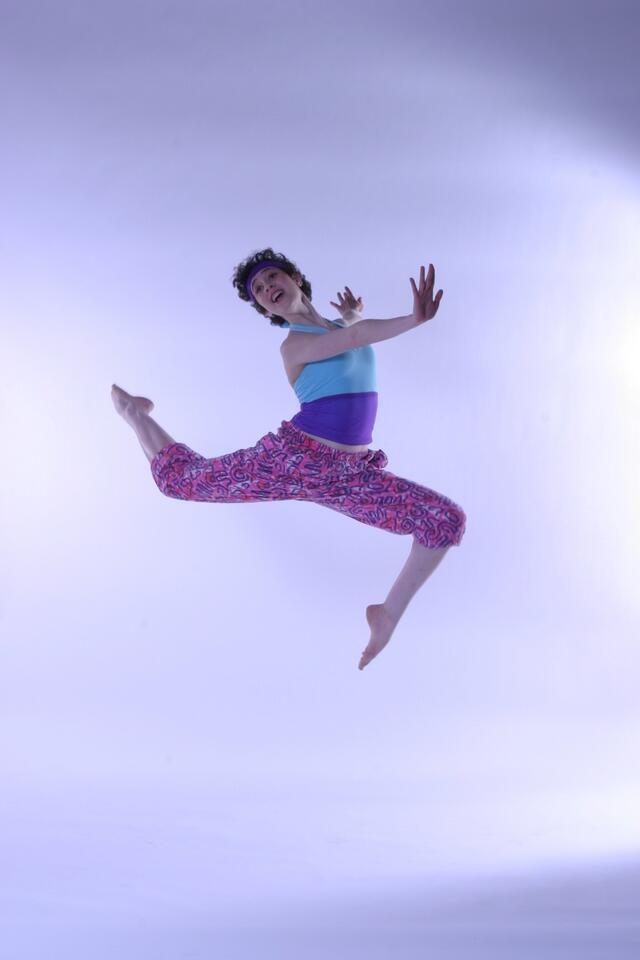 Gabrielle Orcha dance shot