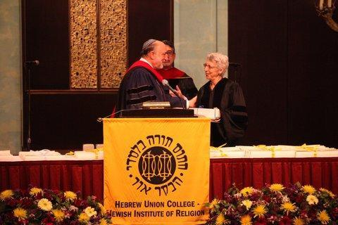 Gail T. Reimer receives award 2012 American Jewish Distinguished Service Award from Hebrew Union College-Jewish Institute of Religion