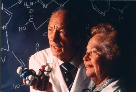 Gertrude Elion with George Hitchings