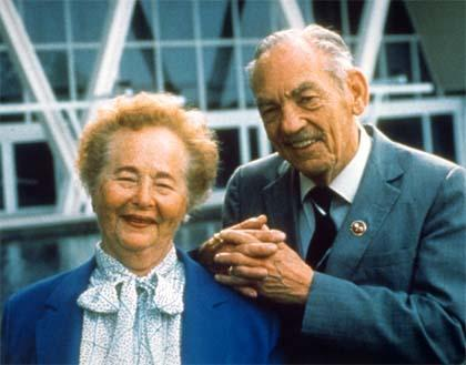 Gertrude Elion and George Hitchings
