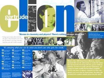 Gertrude Elion poster