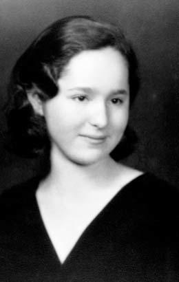 Gertrude Elion's high school graduation photograph