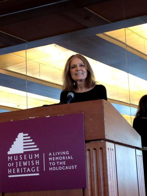 Gloria Steinem at JWA's 2012 Making Trouble/Making History luncheon