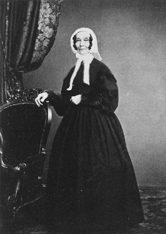Portrait of Rebecca Gratz from the Hebrew Sunday School Society papers