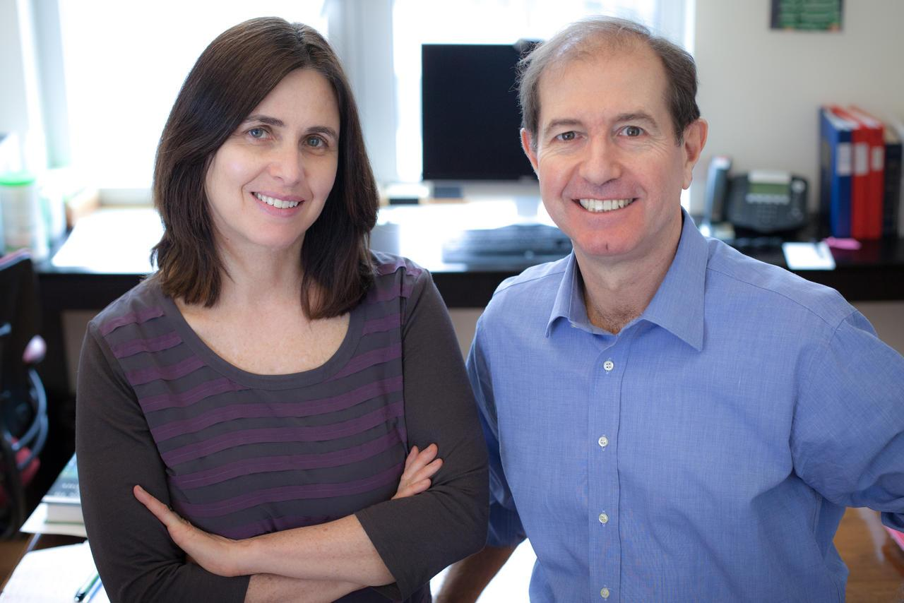 Shafi Goldwasser and Silvio Micali