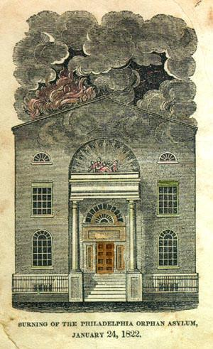 Burning of the Philadelphia Orphan Asylum