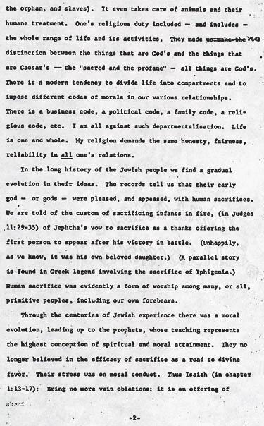 Essay by Gertrude Weil