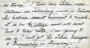 Letter from Gertrude Weil to her family, September 26, 1897 - excerpts