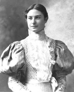 Gertrude Weil circa 1896