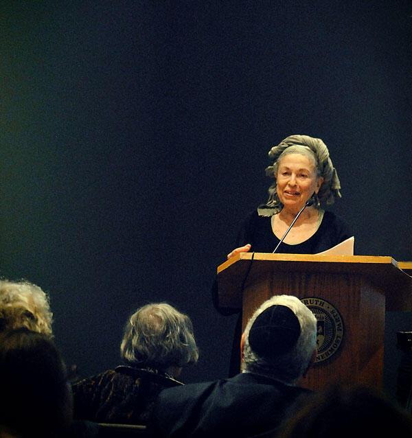 Helene Aylon Book Launch, October 10, 2012