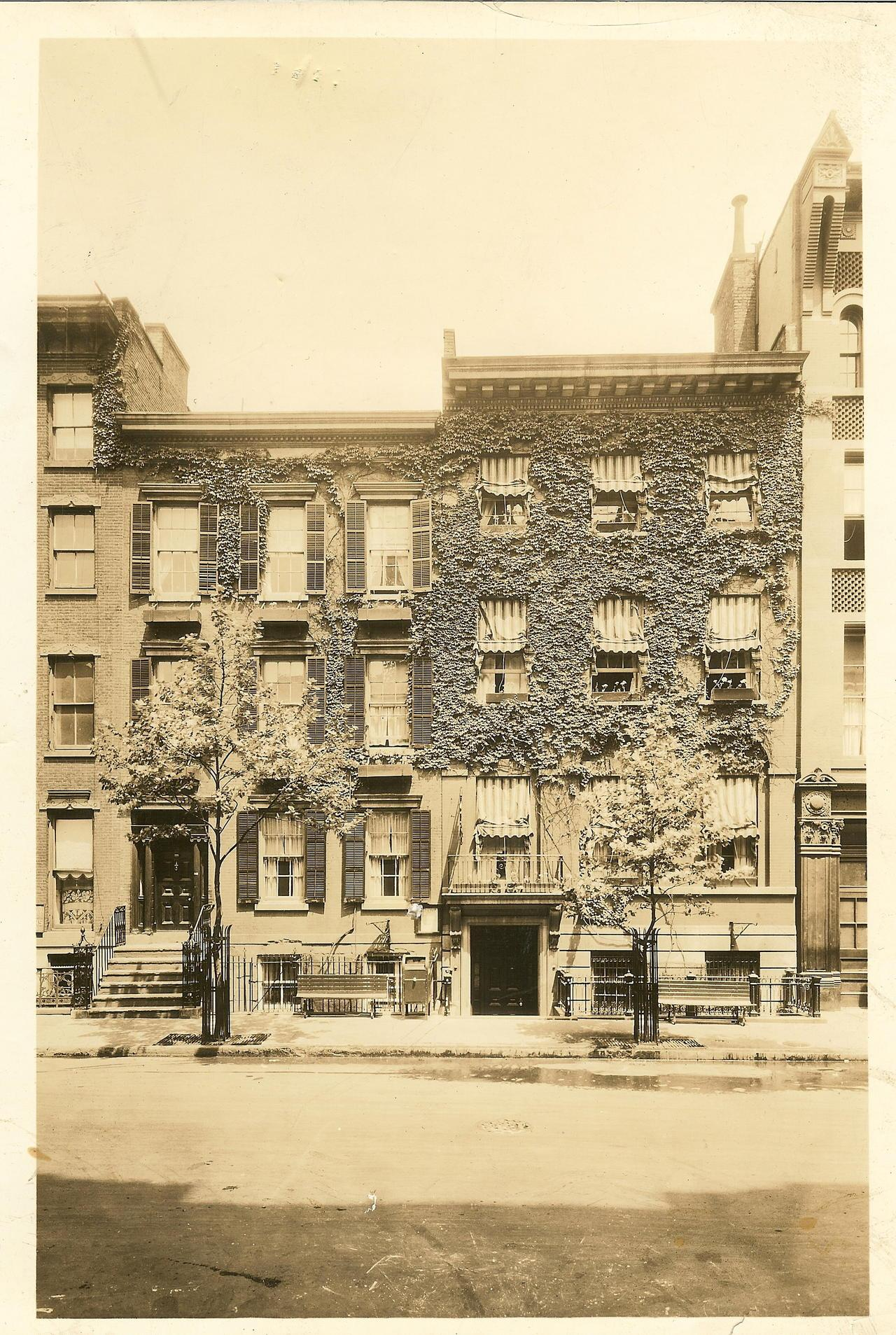 Henry Street Settlement Historical Photo of Building