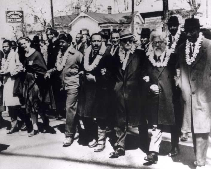 Abraham Joshua Heschel on the Selma March, 1965