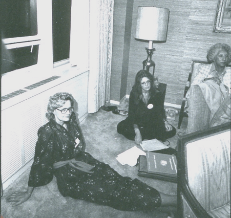 Late-night Planning Meeting (1977), by Diana Mara Henry