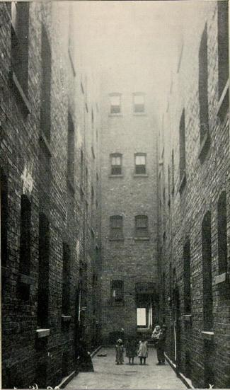 """Children in Tenement Alley"""