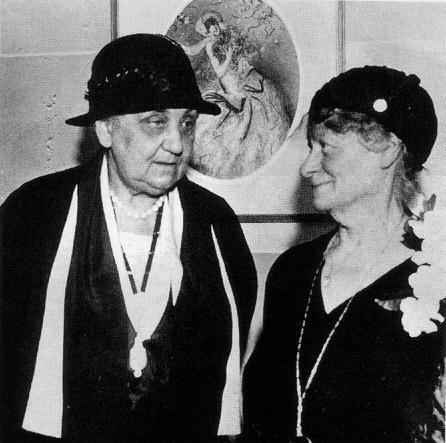 Jane Addams and Hannah Greenebaum Solomon
