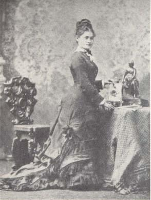 Hannah Greenebaum Solomon After Marriage to Henry Solomon, 1879