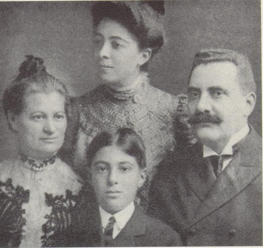 The Solomons, Taken the Year of Their Trip to Germany, 1904
