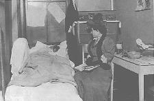 National Council of Jewish Women Members Visiting the Sick