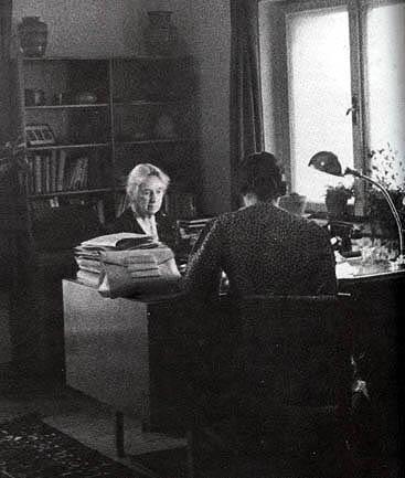 Henrietta Szold and Emma Ehrlich, 1942