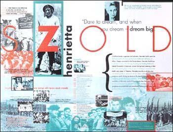 Henrietta Szold poster