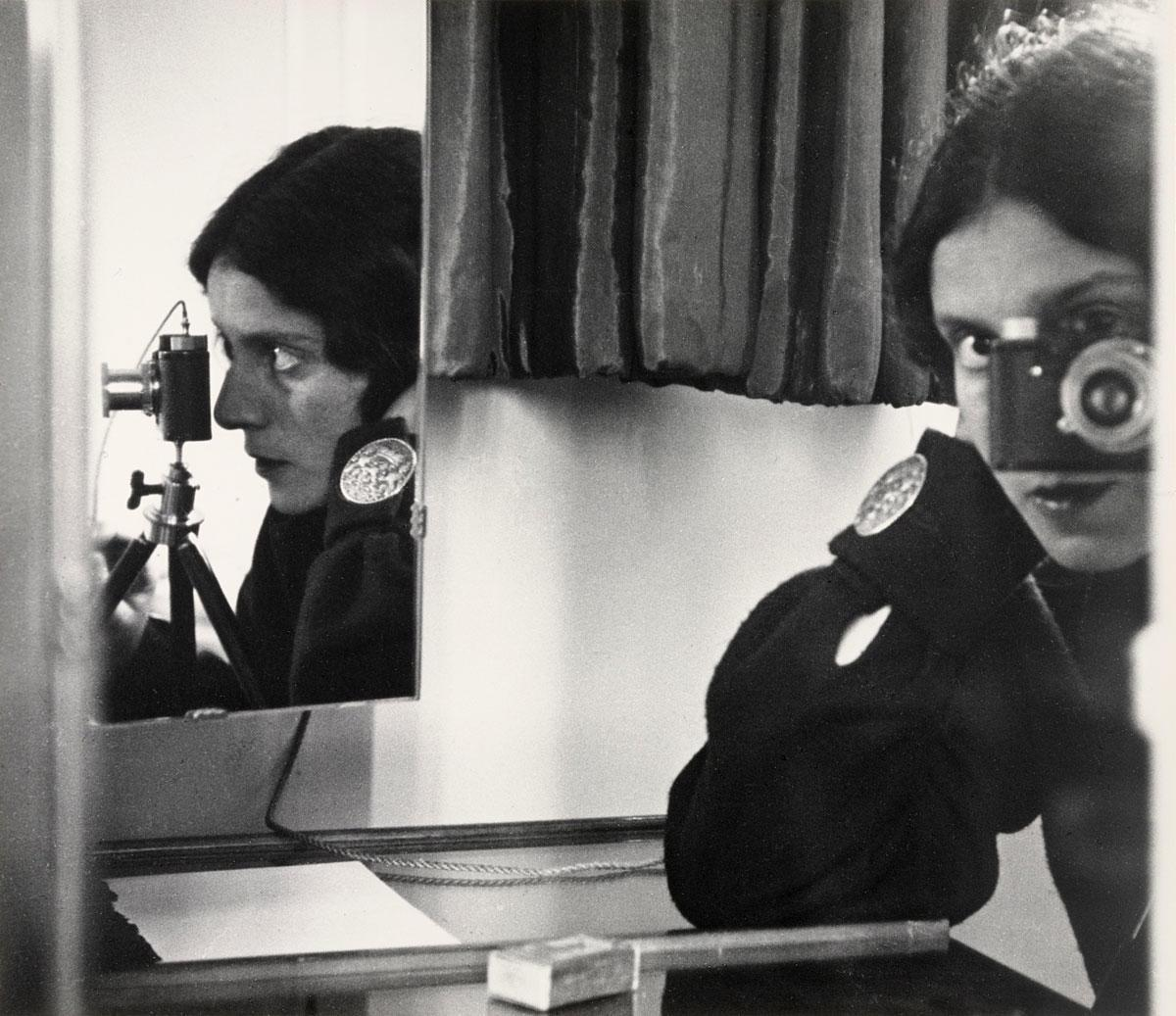 Ilse Bing, Self-Portrait, 1931
