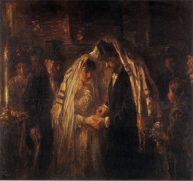 """A Jewish Wedding"" by Jozef Israëls, 1903"