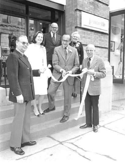 Flip and Herman Imber Opening a New Jeannette Shop