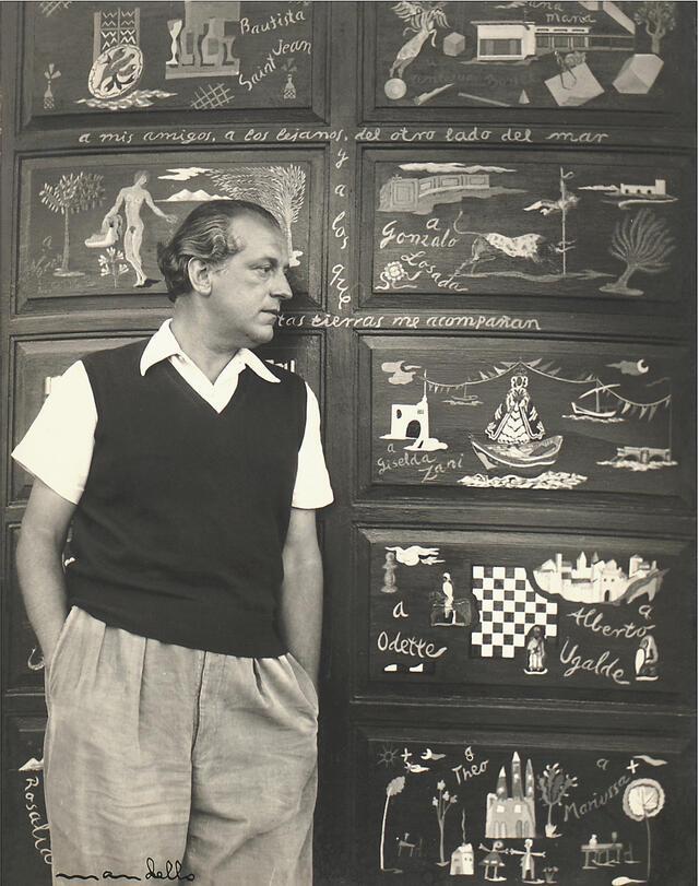 Mandello - Poet Rafael Alberti, Punta del Este, 1947