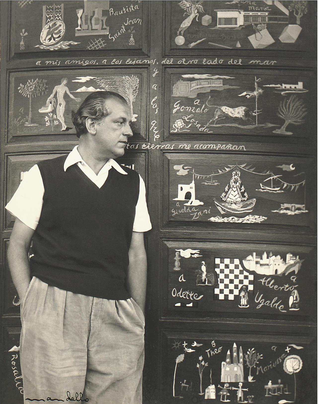 """Poet Rafael Alberti, Punta del Este,"" 1947"