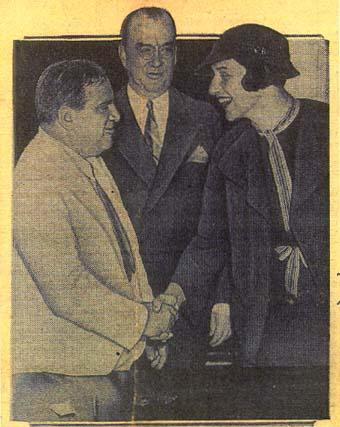 Justine Wise Polier and Mayor La Guardia