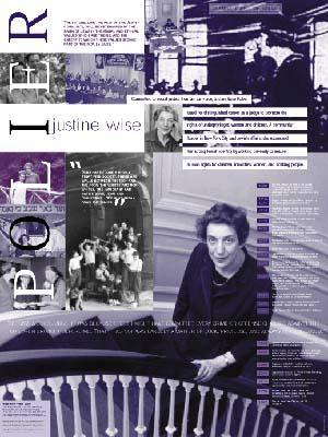 Justine Wise Polier poster