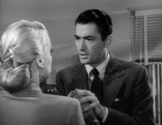 June Havoc and Gregory Peck in Gentlemen's Agreement, 1947