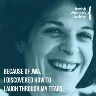 Gilda Radner laugh through tears