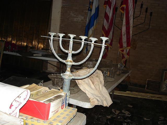 The Beth Israel Congregation's Menorah