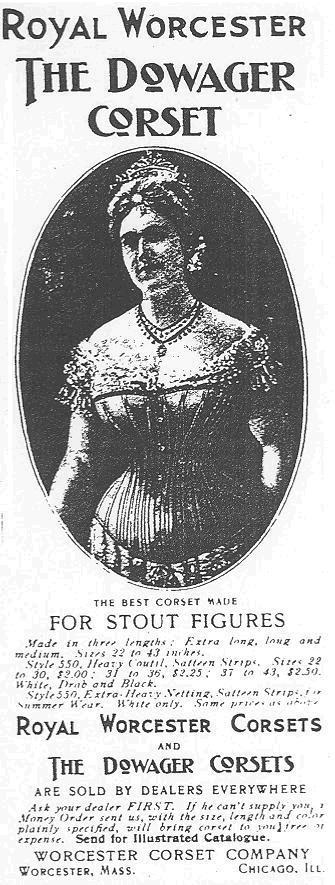 "Advertisement for a Corset in the ""Ladies' Home Journal,"" June 1899"