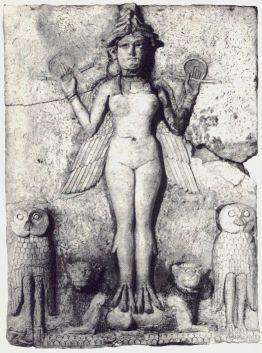 "The Burney Relief, ""Queen of the Night"""