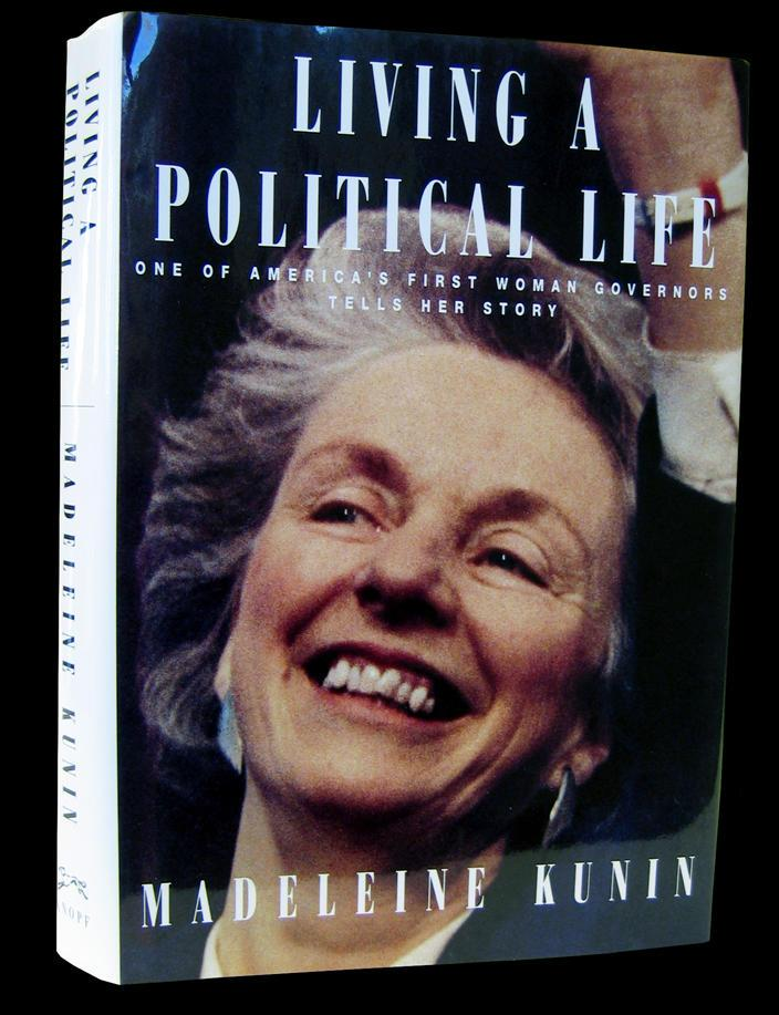 """Living a Political Life,"" by Madeleine May Kunin"