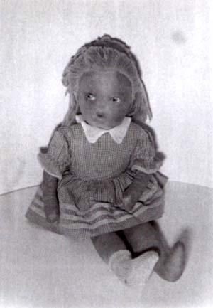 Alice in Wonderland doll produced by the Alexander Doll Company