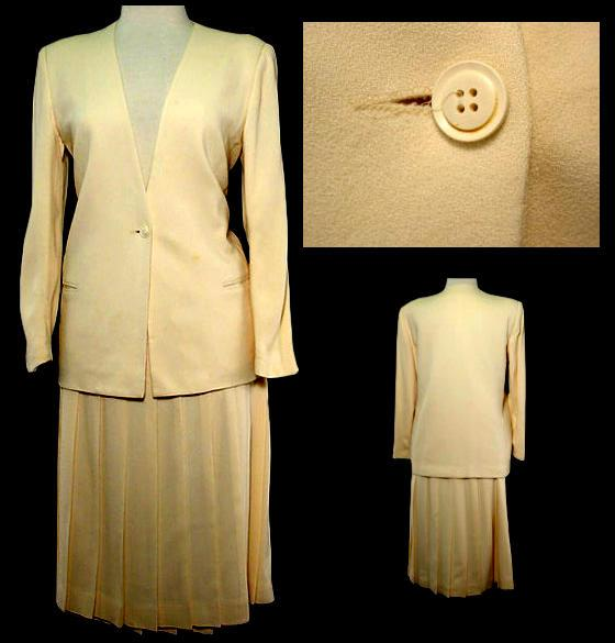 Madeleine Kunin's first inauguration suit