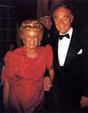 Beatrice Alexander with Alexander Haig, circa the 1980s