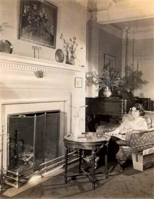 Beatrice Alexander in her New York home