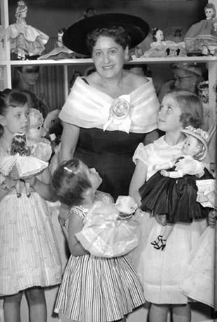 Beatrice Alexander at a store promotion in Michigan