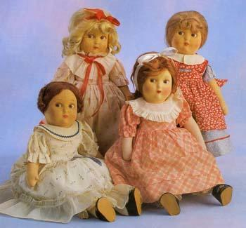 Set of Little Women dolls produced by the Alexander Doll Company