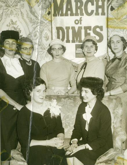 Flip Imber and the March of Dimes Ladies