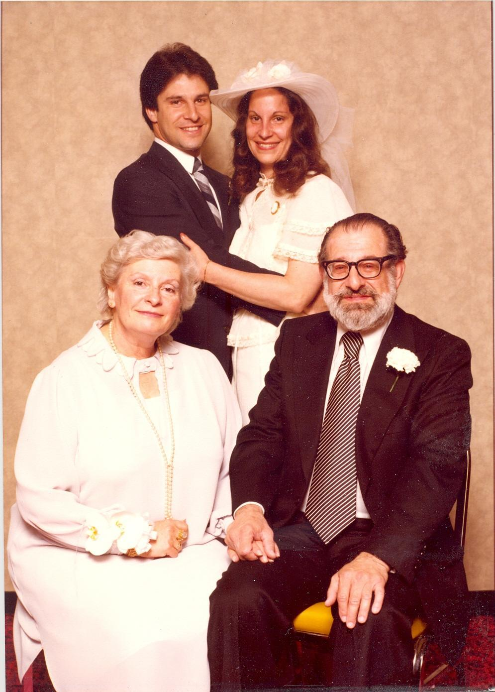 Marcia Soloski Levin and her Family, 1981