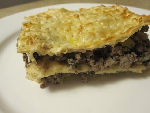 Matzah Pie