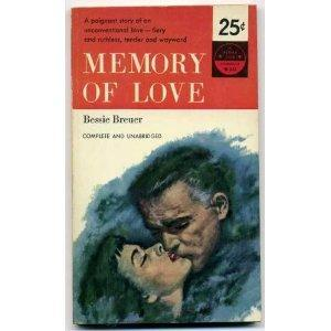 """Memory of Love"" Front Cover by Bessie Breuer"