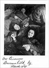 Yetta Moskowitz and Other Flight Nurses, 1944