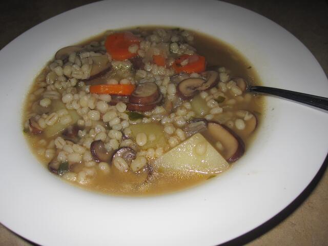 Krupnik (Polish Barley Soup)